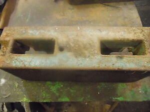 Oliver 1755 Tractor Front Weight