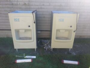 2 Working Hotel Hoshizaki Ice Machine Dispensers can Deliver