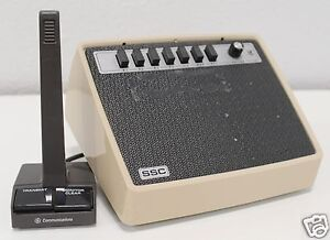 Solid state Communications Dispatch Console Ge Communications Microphone 834k4
