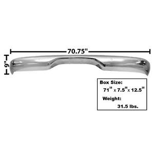 Dynacorn 1116c Rear Stepside Chrome Bumper 1960 66 Chevy