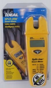 Ideal Split Jaw Automatic Smart Meter Multimeter 61 096 New And Sealed