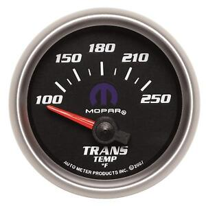 Autometer 880019 Mopar Transmission Temperature Gauge 2 1 16 100 250 Degree