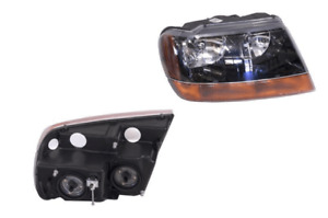Headlight Right Hand Side For Jeep Grand Cherokee Wj Wg 1999 2005