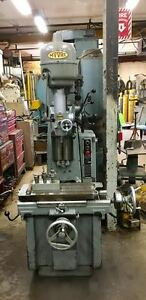Moore 1 1 2 Jig Borer With 10 1 2 X 19 1 2 Table And Tooling