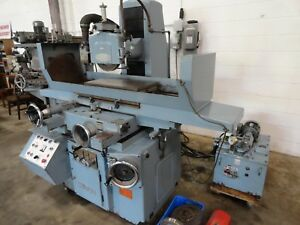 Nicco Nsg 6h 12 X 24 Automatic Surface Grinder With Incremental Downfeed