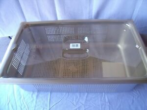 Vollrath 90063 Super Pan 3 Anti jam Stainless Steel Perforated Steam O1