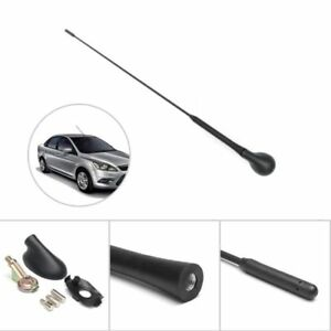 Car Auto Roof Am Fm Antenna Mast Base Kit Black New For Ford Focus 2000 2007
