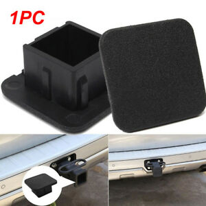 Rubber Car Kittings 1 1 4 Suv Black Trailer Hitch Receiver Cover Cap Plug Parts