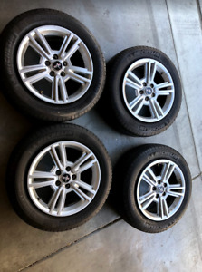 Oem Mustang Wheels And Tires 17inch