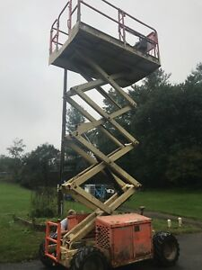 2007 Jlg 260mrt 4x4 26ft Rough Terrain Scissor Lift