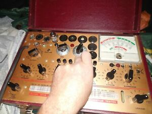 Working Hickok 800a Tube Tester