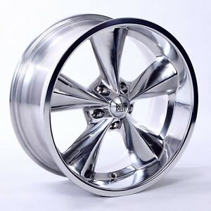Boyd Junk Yard Dog Wheels Polished 18x7 18x8 Suit Ford s With Tires Lugs