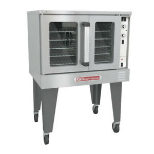 Southbend Electric Convection Oven Bes 17sc Single Stack Wheels Not Included
