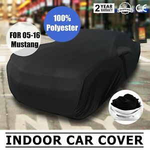 Full Car Cover Ultraguard Stretch Satin Car Covers For 2005 2016 Ford Mustang