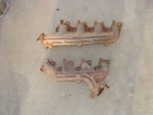 1977 1979 Ford F150 F250 F350 Bronco Right Left Exhaust Manifold 351m 400