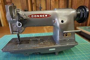 Consew 226r 2 Industrial Walking Foot Sewing Machine head Only