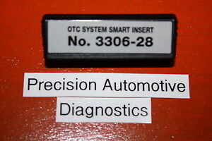 Otc 3306 28 Saturn Abs Smart Insert Genisys Determinator Scanner Cable System