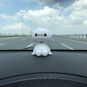 Car Bouncing Head Toy Robot Shaking Figure Auto Interior Decor Doll Accessories