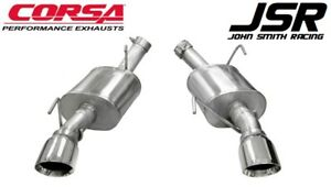 05 10 Mustang Gt 4 6 Gt500 Corsa 2 5 Xtreme Axle back Exhaust polished Tips