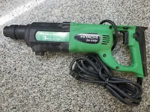 Hitachi Dh24pf 3 Mode Action Rotary Hammer A y