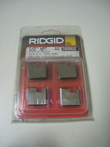 Ridgid 38060 1 2 Npt 14 Tpi Lh Pipe Threading Dies For 11r 00r 111r 12r New 1
