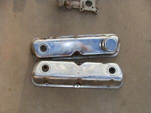 Ford Engine 289 302 351w Chrome Valve Covers
