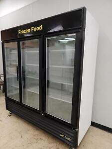 True 3 glass Door Merchandising Freezer Gdm 72f