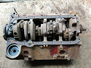 1968 Chevy 327 Short Engine Block Engine 3914660 H 22 7 18d106348 T0825hf