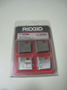 Ridgid 37970 1 Npsm 11 1 2 Tpi Rh Pipe Threading Dies For 11r 00r 111r 12r New