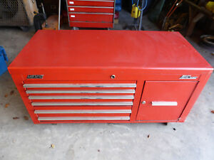 Mac Tools Tool Box Mb1210 Rolling 6 Drawers Cabinet W Pull Out Shelves
