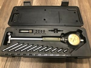 Mitutoyo Dial Bore Hole Inside Gage 2 0 To 4 0 0001 Micrometer Gauge