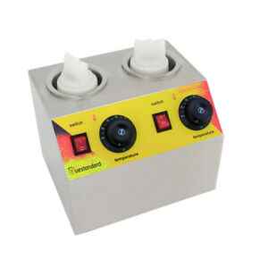 110v 400w Double Heating Liner Cheese Dispenser Warmer