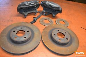 Cobalt Ss Turbo Supercharged Front Brembo 4 Piston Calipers W Rotors