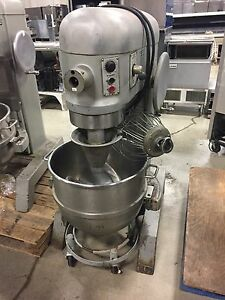 Hobart L800 80 Qt Mixer With Timer Bowl Whip whisk Dough Hook Paddle Dolly