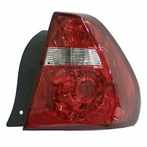 Fits Tail Lamp Right 2004 2005 2006 2007 Chevy Malibu Sdn Gm2801165 15868493