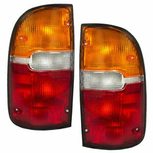 Fit For Ty Tacoma 1995 1996 1997 1998 1999 2000 Rear Tail Lamp Right Left Set
