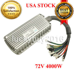 4000w 72v Electric Bicycle Brushless Motor Speed Controller For E bike