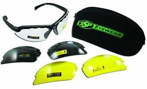 Ssp Eyewear Top Focal Tactical Safety Glasses Kit With Assorted Interchangeable