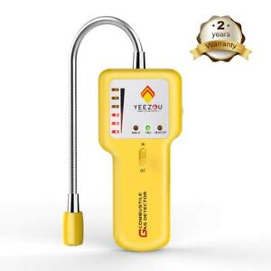 New Upgrade Natural Gas Detector Combustible Propane Gas Leak Sniffer