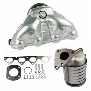 Exhaust Manifold Integrated Catalytic Converter For 1996 2000 Honda Civic 1 6l