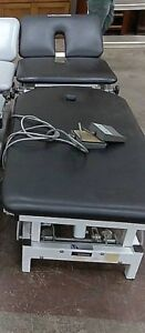 Tested Working Med Ortho Adjustable Hi Low Tattoo Chiropractic Table Therapy
