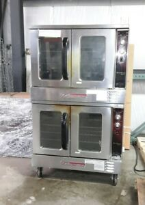 Used Southbend Gs 25sc Double deck Nat Gas Convection Oven