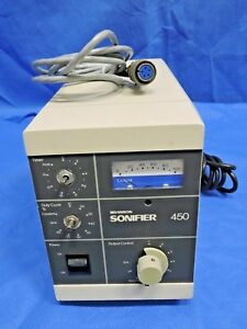 Branson Ultrasonics Sonifier 450 Power Supply Cell Disruptor Controller