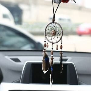 Car Rear Mirror Hang On Toy Dream Catcher Auto Decor Hanging View Interior Gift