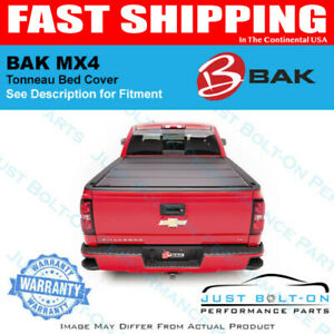 Bakflip Mx4 Fits Matte Finish 2019 Dodge Ram W O Ram Box 5 7 Bed 448227