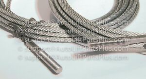 Equalizer Cables For Rotary Lift Model Spoa9 100 And Above N33 Set Of 2