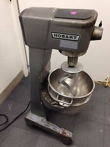 Hobart D 300 30 Qt Commercial Dough Mixer Works Great With Video