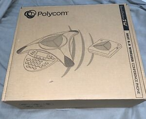 Polycom Soundstation 2w Conference Phone With Receiver Base And 2 Ex Mics 1 9ghz