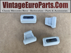 Replacement Set Of Grey Sun Visor Clips Fits Mercedes W107 Sl