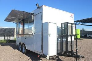 New Food Trailer Concession Custom Trailer Manufacturers 7x10 7x14 8x16